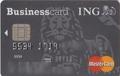 ING Business Card